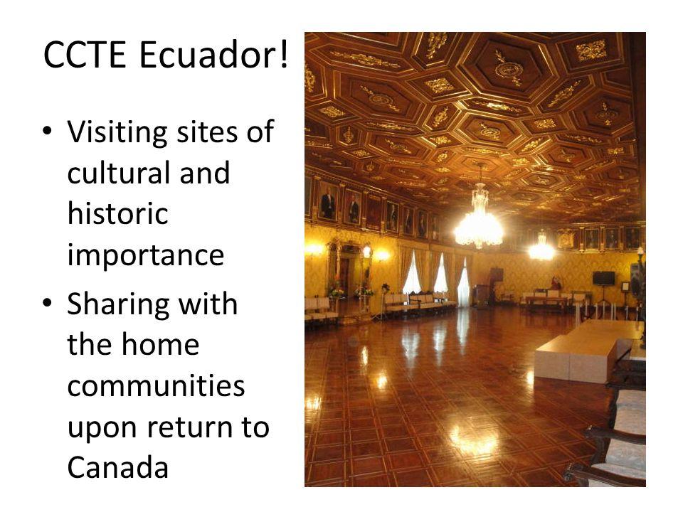CCTE Ecuador.