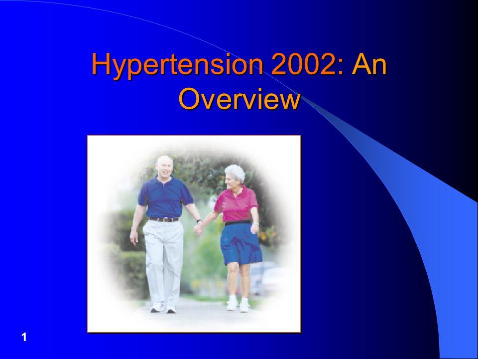 1 Hypertension 2002: An Overview