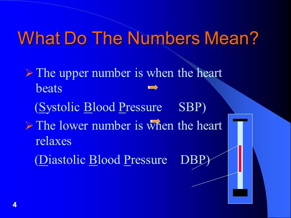 5 Measured in mm Hg (millimeters of mercury) e.g.