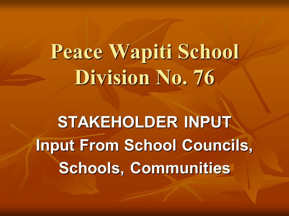 Peace Wapiti School Division No.
