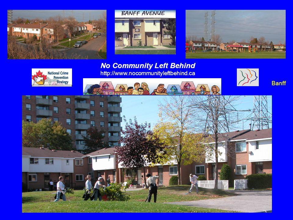 Banff No Community Left Behind http://www.nocommunityleftbehind.ca