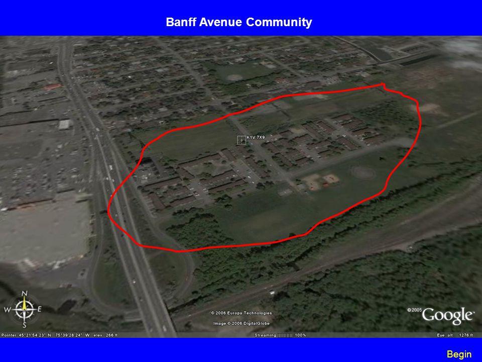 Begin Banff Avenue Community