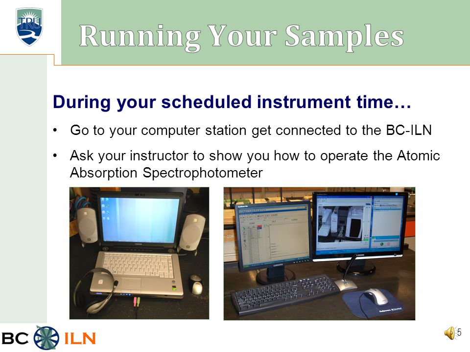BC ILN Prepare your labeled auto-sampler tubes for submission to the BC-ILN Your instructor will supply you with auto-sampler tubes with caps and a ra