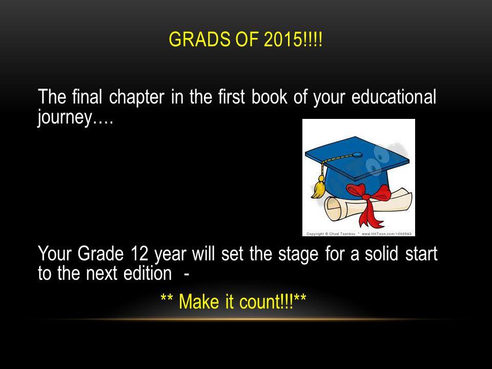 February 26, 2014 GRADE 12 COURSE PLANNING North Delta Secondary