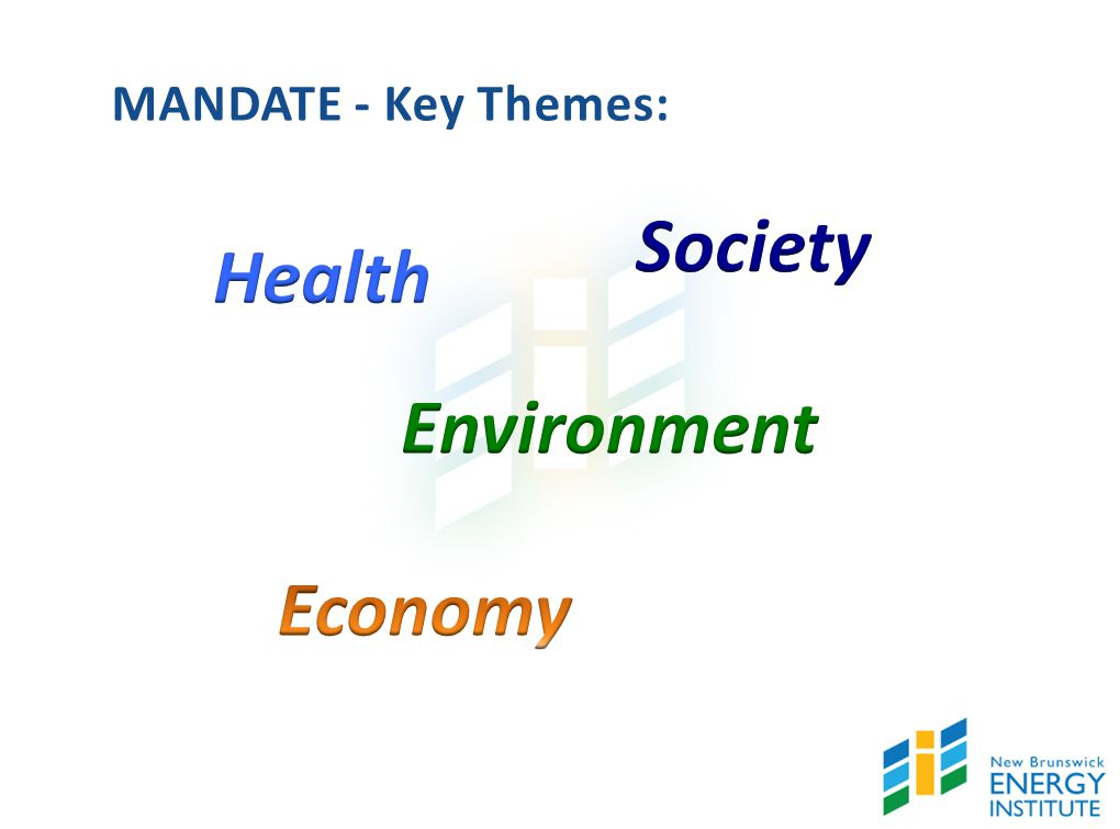 MANDATE - Key Themes: