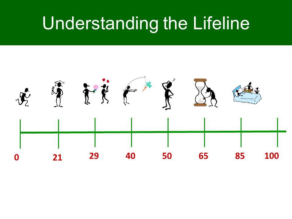 65 0 100 5029 40 85 Understanding the Lifeline 21