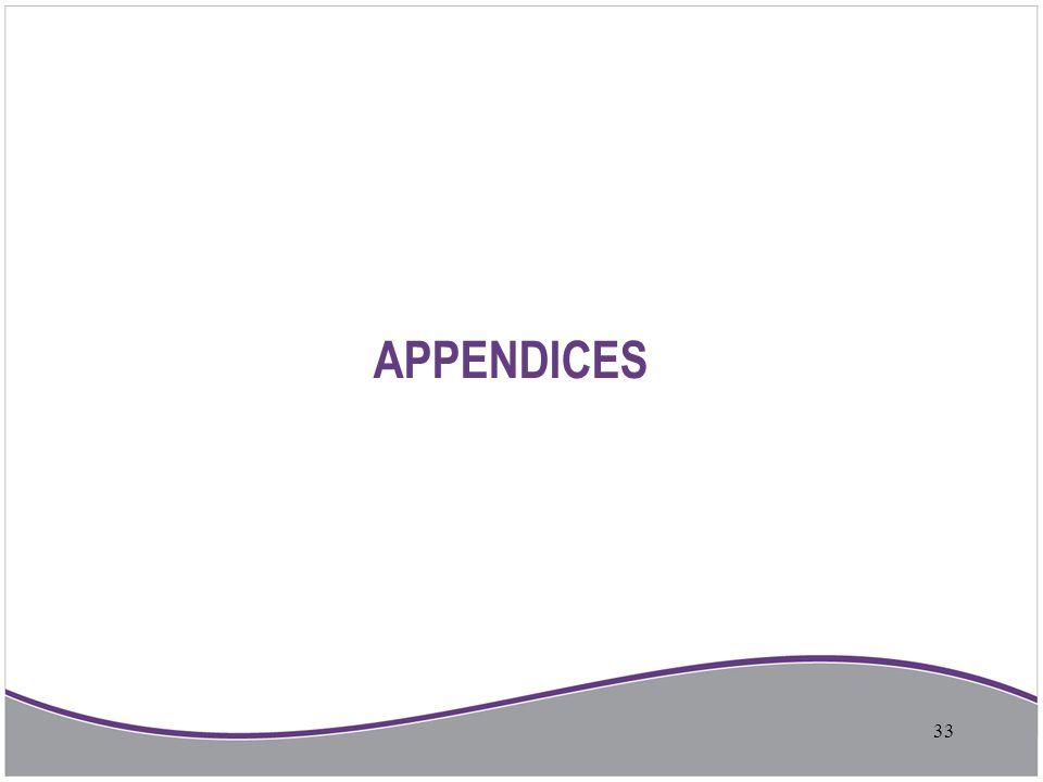 APPENDICES 33