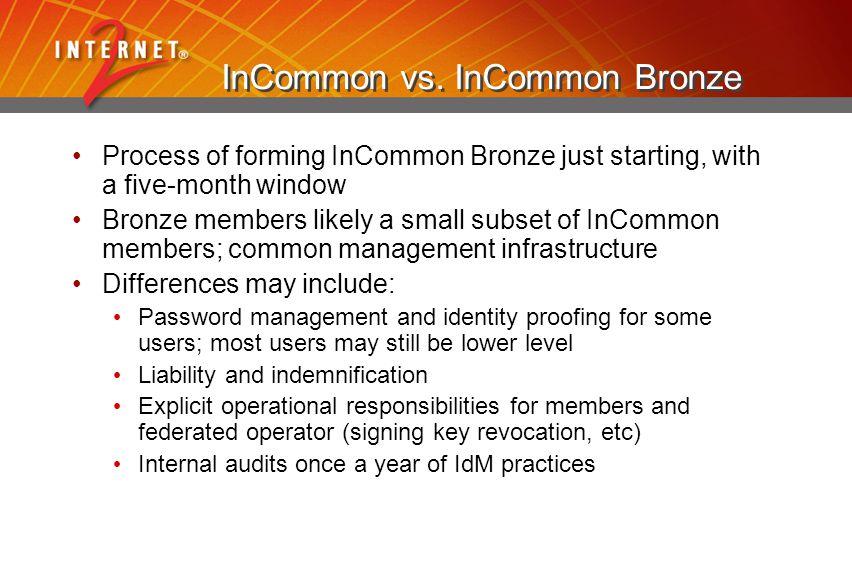 InCommon vs.
