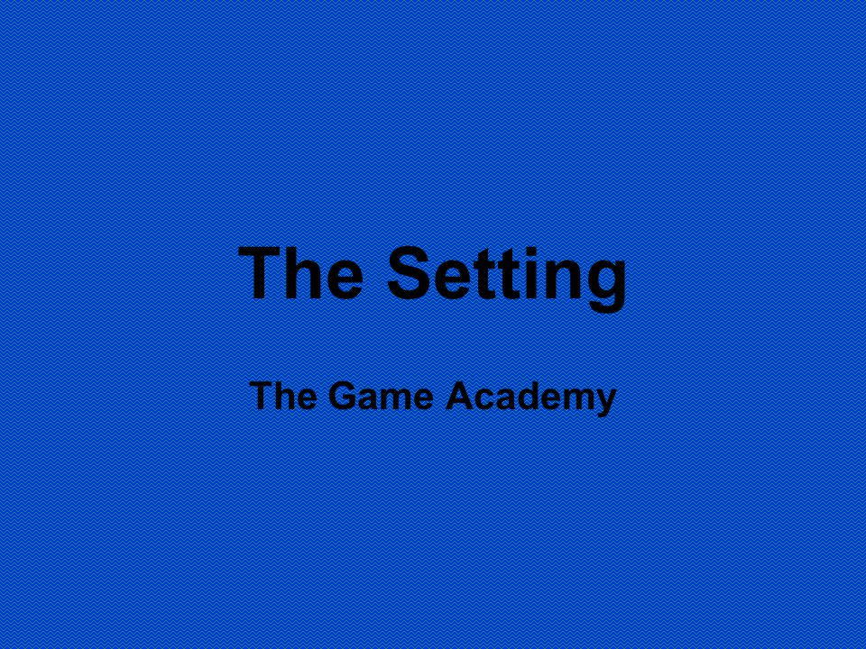 The Setting The Game Academy