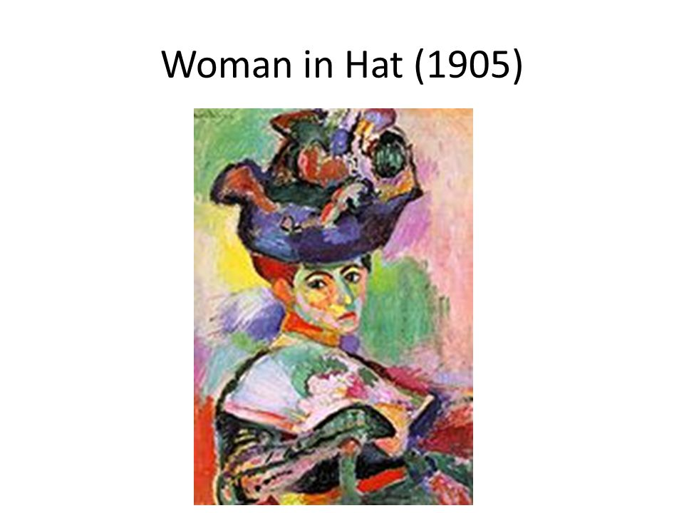 Woman in Hat (1905)
