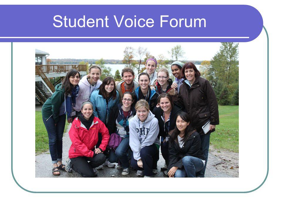 Student Voice Forum