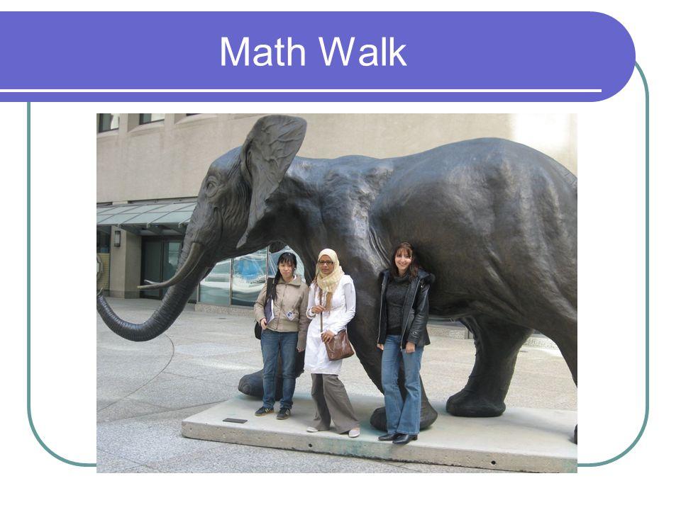 Math Walk