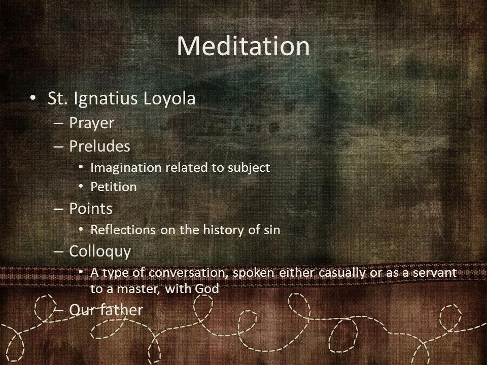 Meditation St.