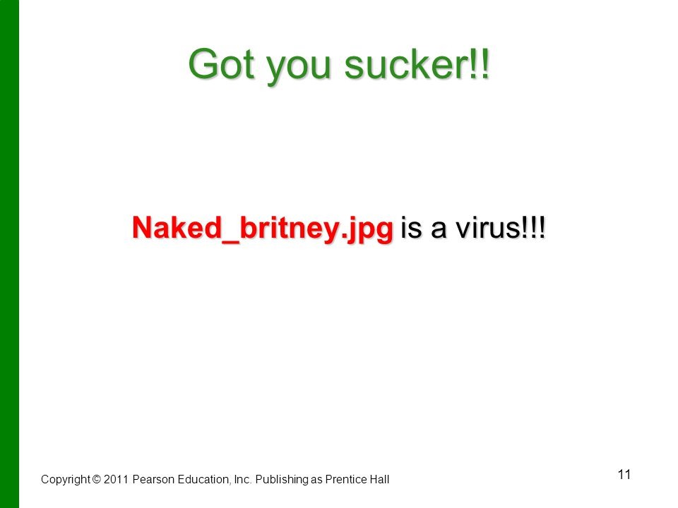11 Got you sucker!.Naked_britney.jpg is a virus!!.