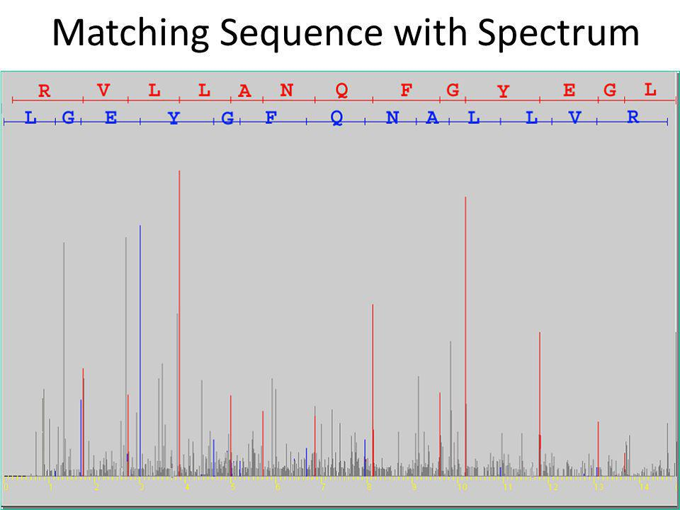 Matching Sequence with Spectrum