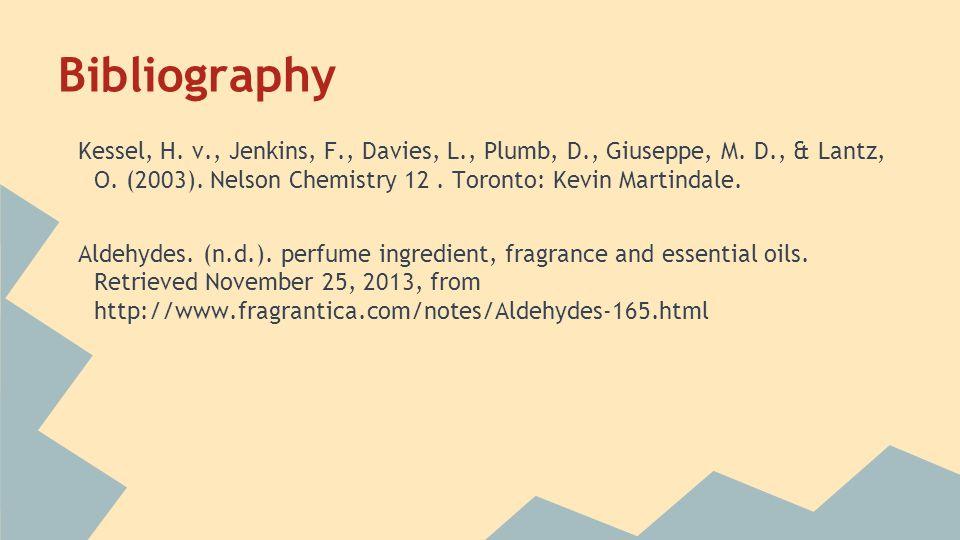 Bibliography Kessel, H. v., Jenkins, F., Davies, L., Plumb, D., Giuseppe, M.