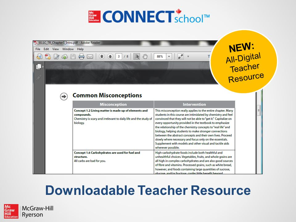 Downloadable Teacher Resource NEW: All-Digital Teacher Resource