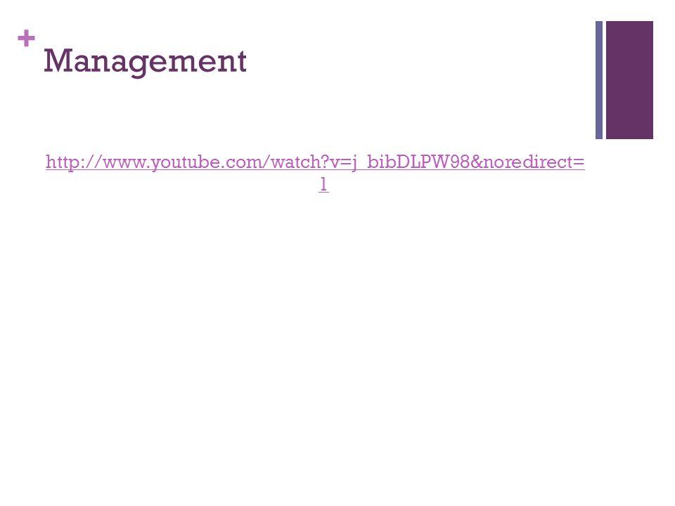 + Management http://www.youtube.com/watch?v=j_bibDLPW98&noredirect= 1