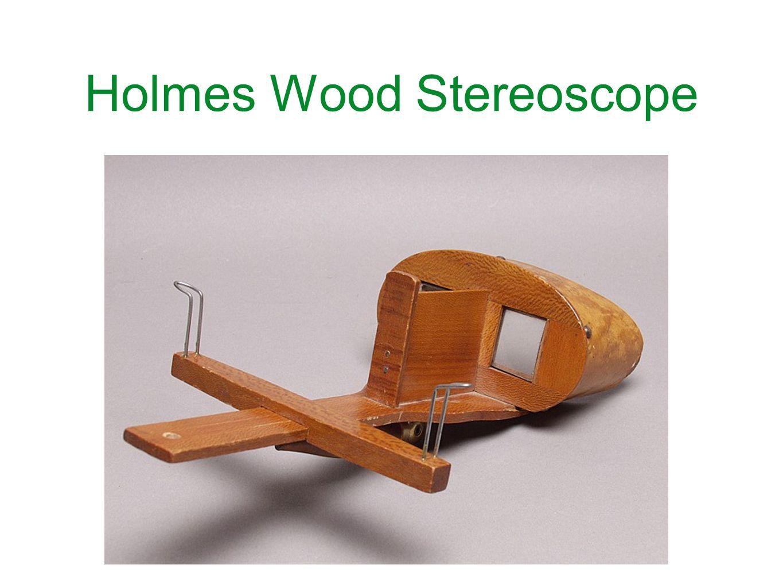 Holmes Wood Stereoscope