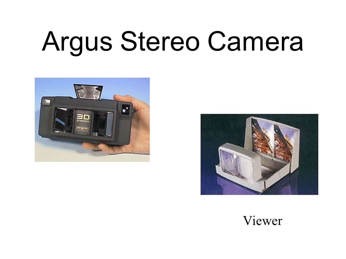 Argus Stereo Camera Viewer
