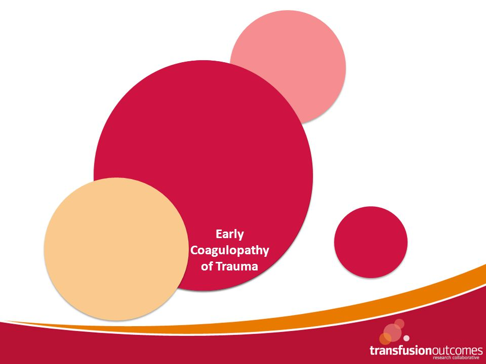 TTP Registry NAIT Registry Aplastic Anaemia Registry Early Coagulopathy of Trauma
