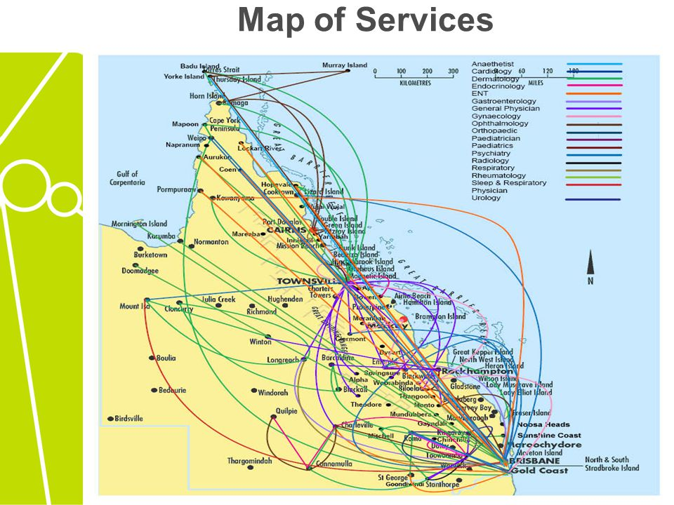 Map of Services
