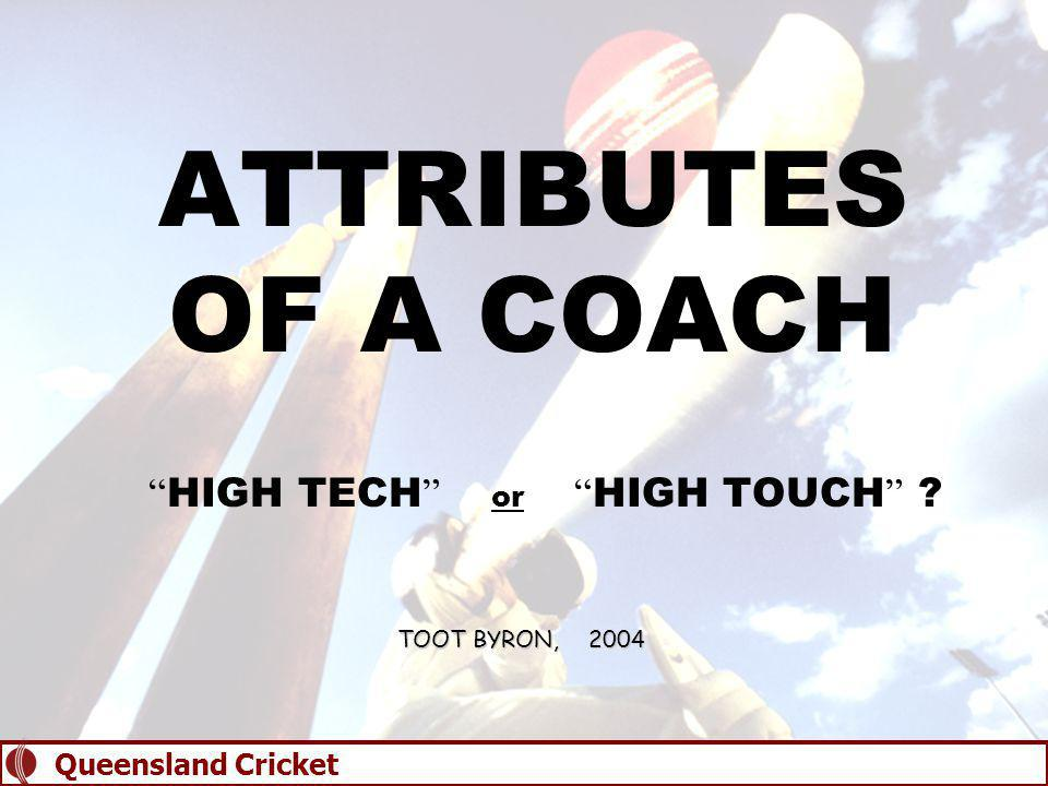 QUALITY COACHING  Successful coaching is about understanding human relationships and managing people.