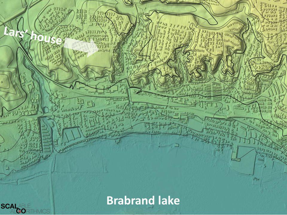 Lars' house Brabrand lake