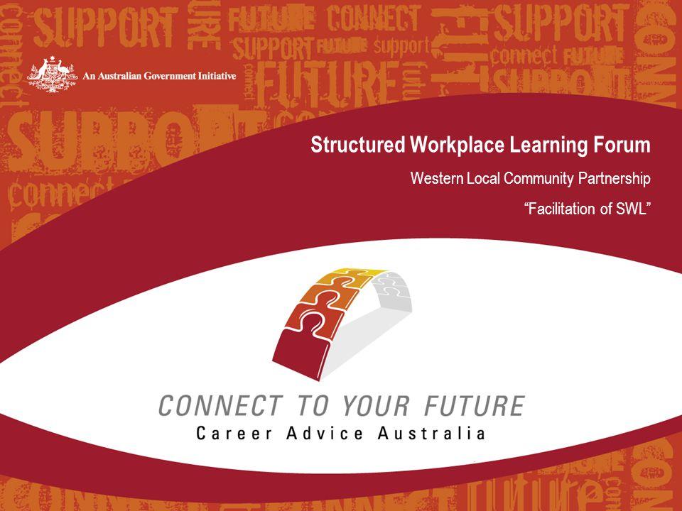 Forum & Workshops  Sunshine – 3 workshops at Western LCP office  Wyndham – 1 workshop in VCAL co-ordinators network meeting  Melton – 1 workshop in VET co-ordinators network meeting or earlier if requested