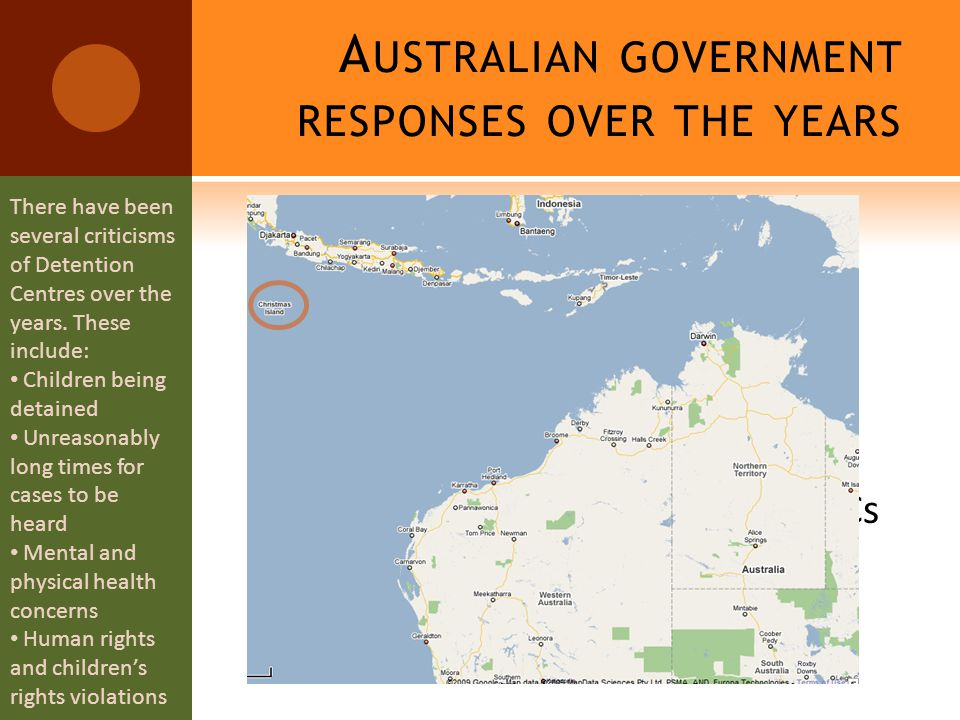 A USTRALIAN GOVERNMENT RESPONSES OVER THE YEARS  The 'Pacific Solution'  $1 billion for what.