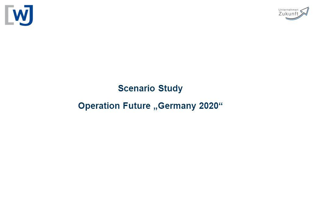 "Scenario Study Operation Future ""Germany 2020"