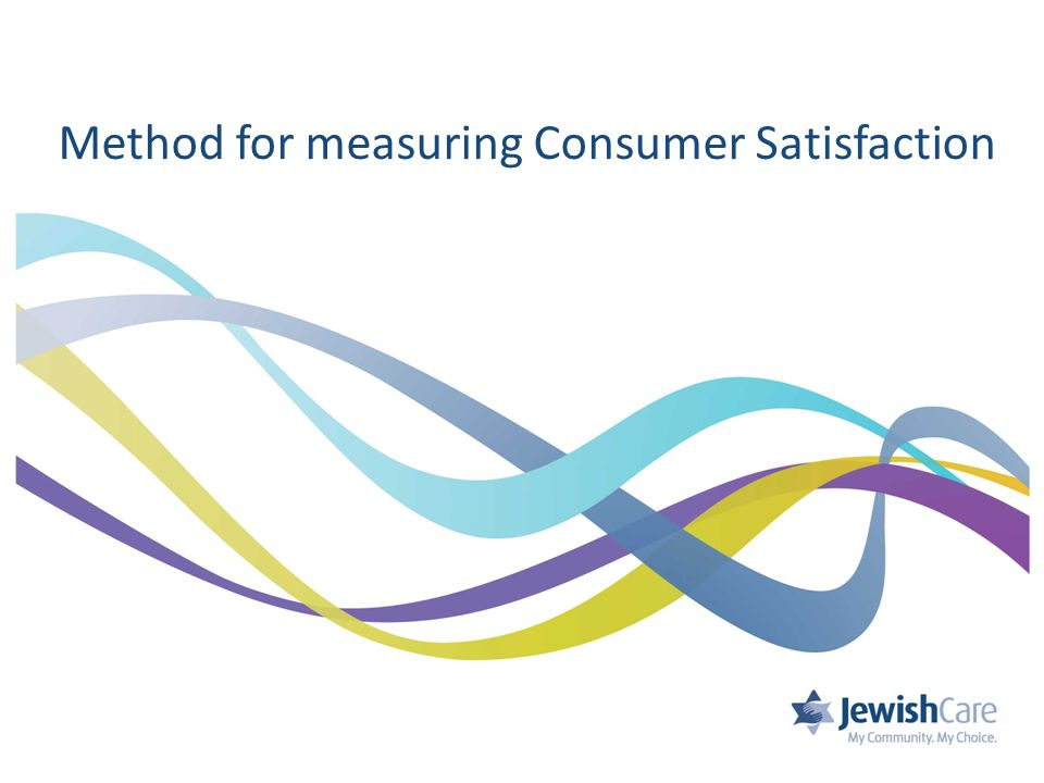 Method for measuring Consumer Satisfaction