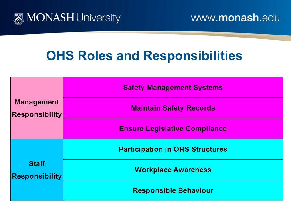 DWG Safety Officer HSR Specialist Student