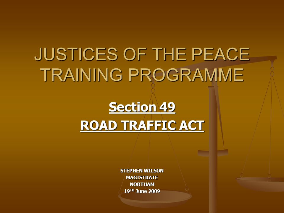s.49 Road Traffic Act Purpose: To create various offences and penalties for driving a motor vehicle on a road without a current and valid authority to drive a motor vehicle.
