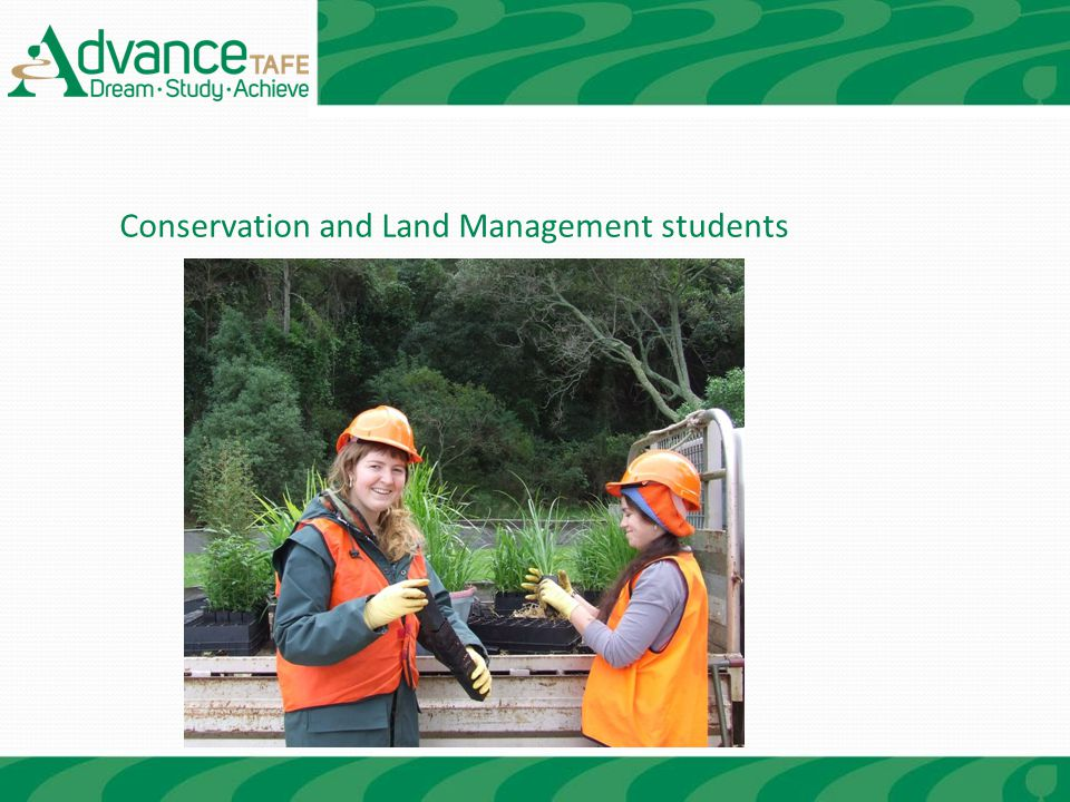 Conservation and Land Management students