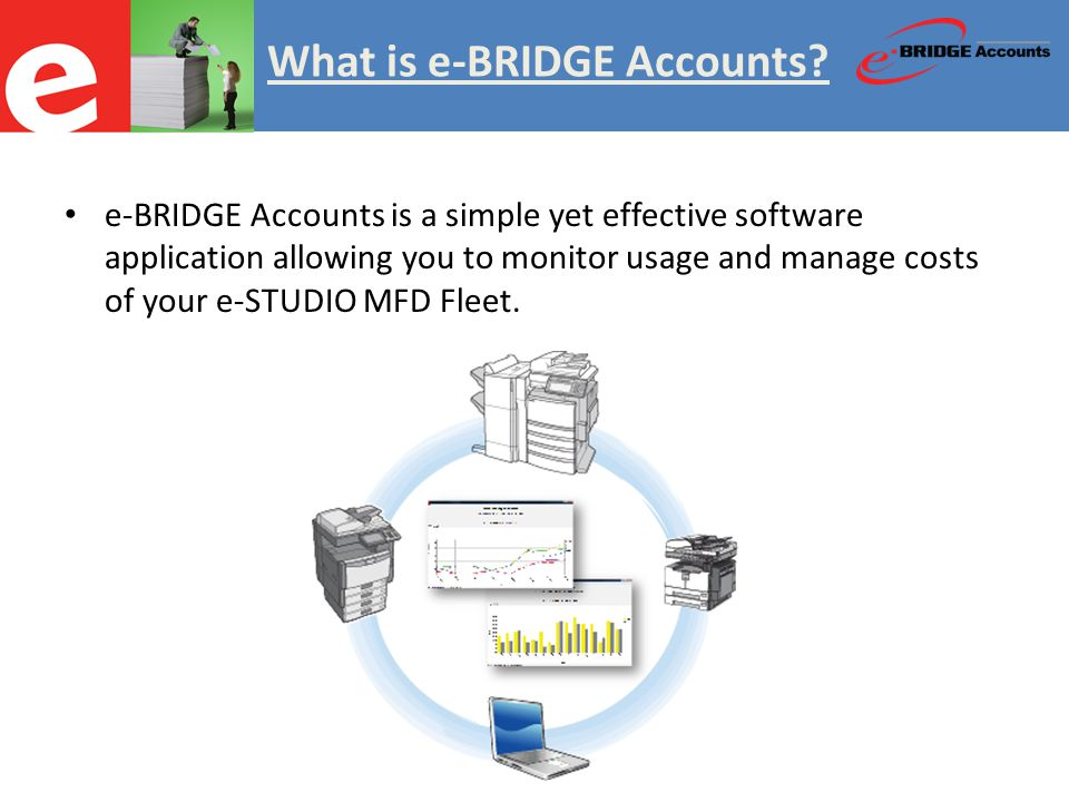 What is e-BRIDGE Accounts.