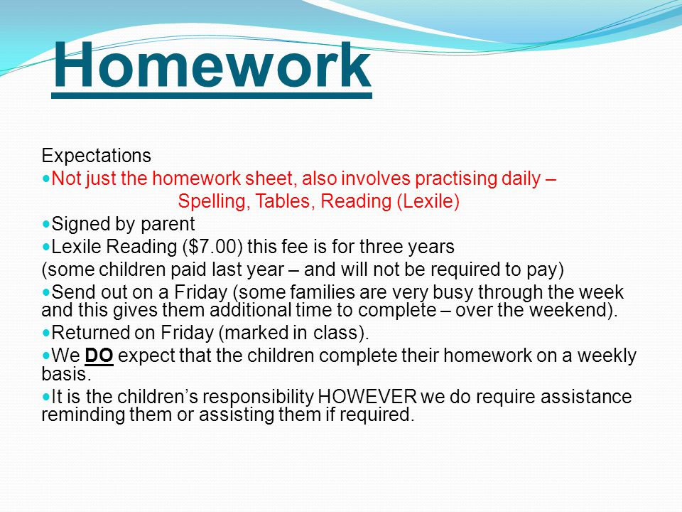 Learning Priorities Please ensure that you have provided all items on your child's booklist.