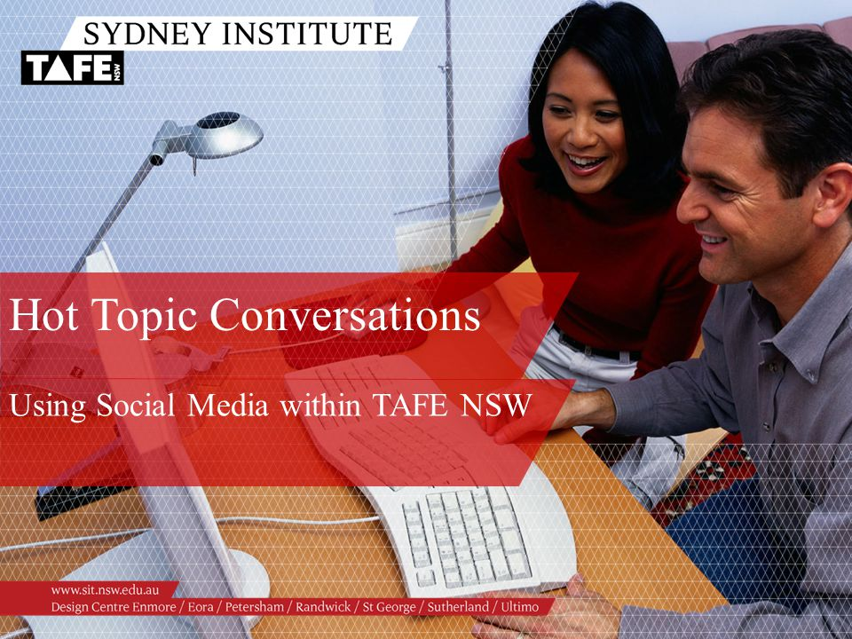 Hot Topic Conversations Using Social Media within TAFE NSW
