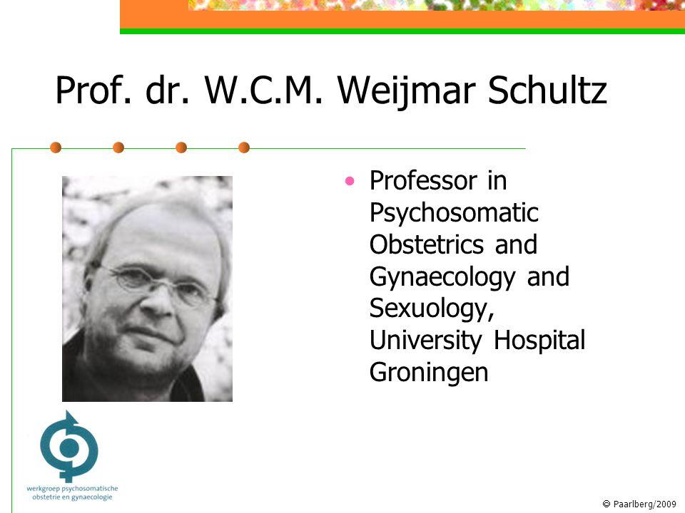  Paarlberg/2009 Prof. dr. W.C.M.