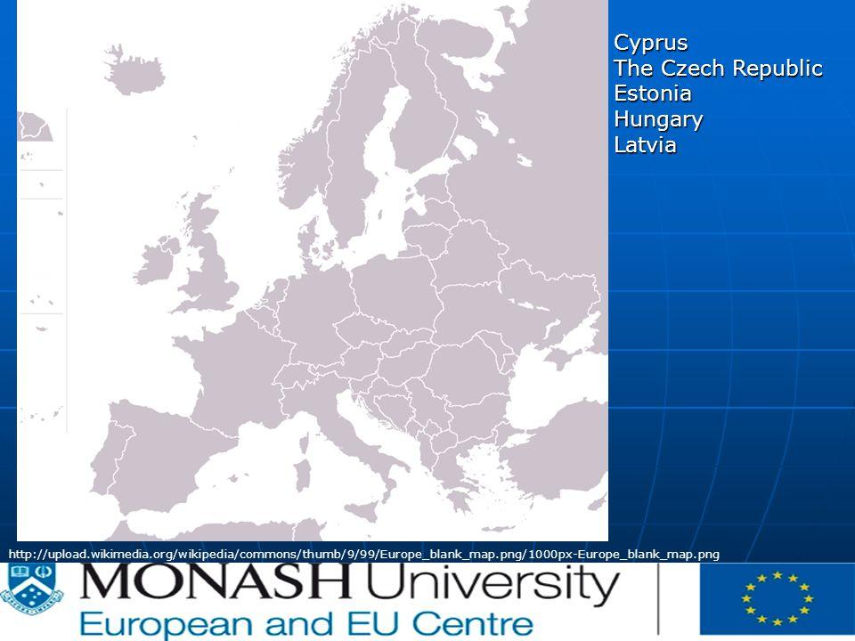CE | | P-012620/00-04 | 07/02/2007 http://upload.wikimedia.org/wikipedia/commons/thumb/9/99/Europe_blank_map.png/1000px-Europe_blank_map.png Cyprus The Czech Republic EstoniaHungaryLatvia