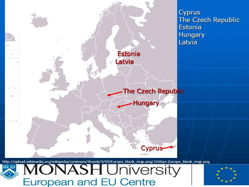 CE | | P-012620/00-04 | 07/02/2007 http://upload.wikimedia.org/wikipedia/commons/thumb/9/99/Europe_blank_map.png/1000px-Europe_blank_map.png Estonia Hungary Latvia Cyprus The Czech Republic EstoniaHungaryLatvia Cyprus