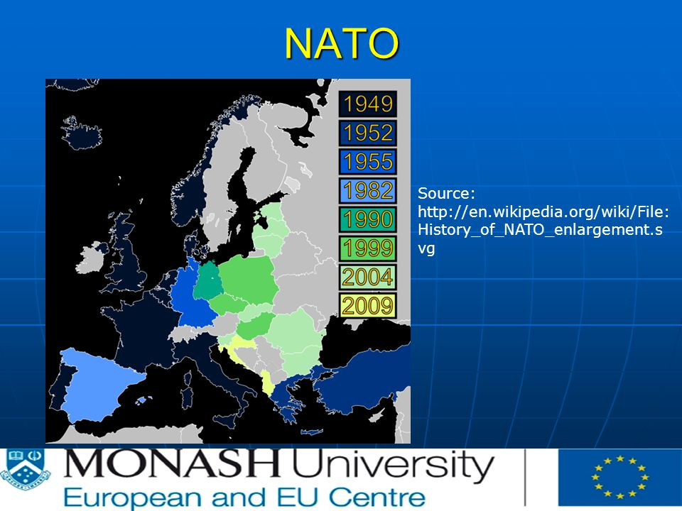 NATO Source:   History_of_NATO_enlargement.s vg