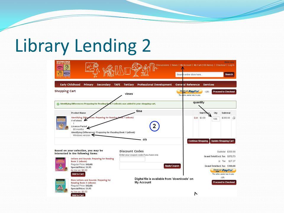 Library Lending 2