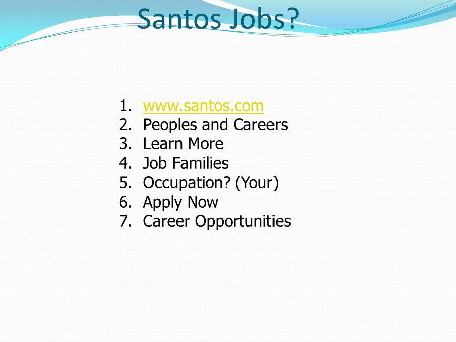 Santos Jobs.