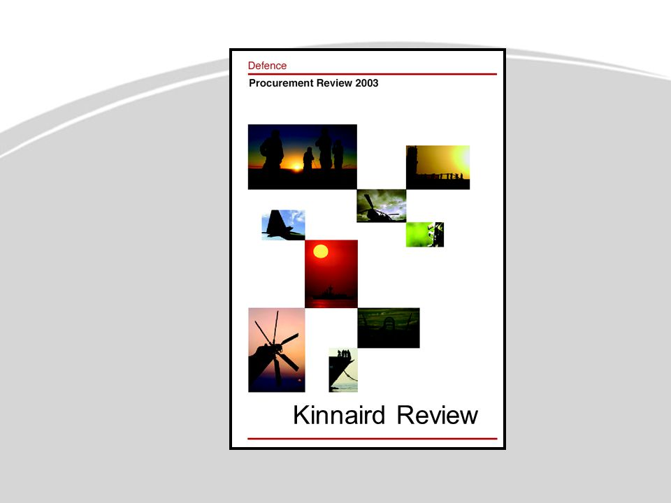 Kinnaird Recommendation 1  Present to Government achievable capability development information in a succinct form on an annual basis  Defence Planning Guidance (DPG)  Defence Capability Strategy (DCS)  Defence Capability Plan (DCP)