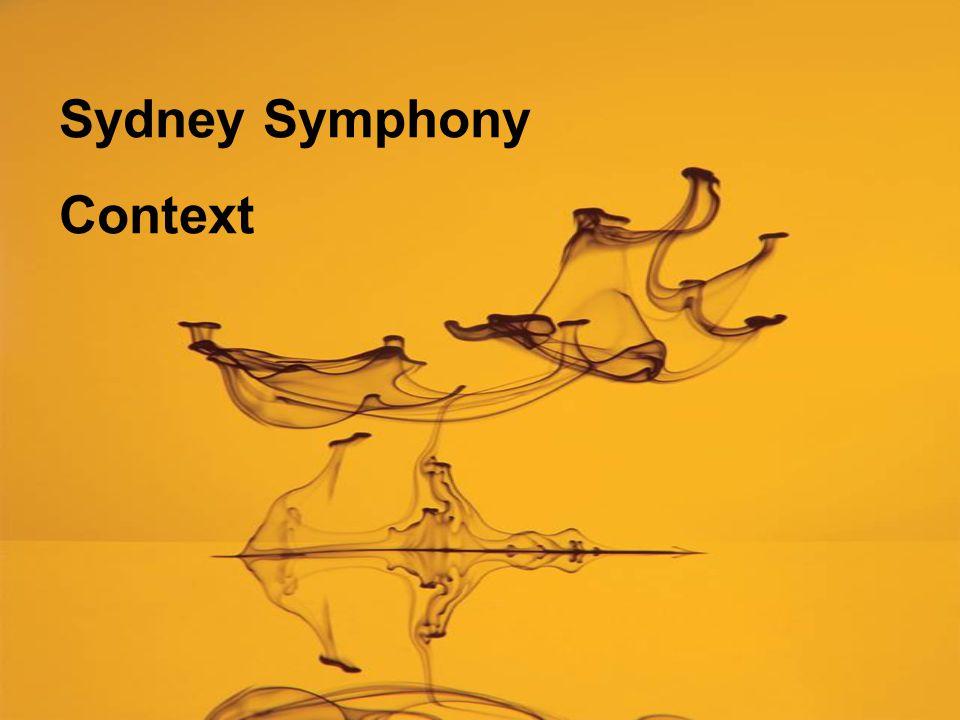 Sydney Symphony Context