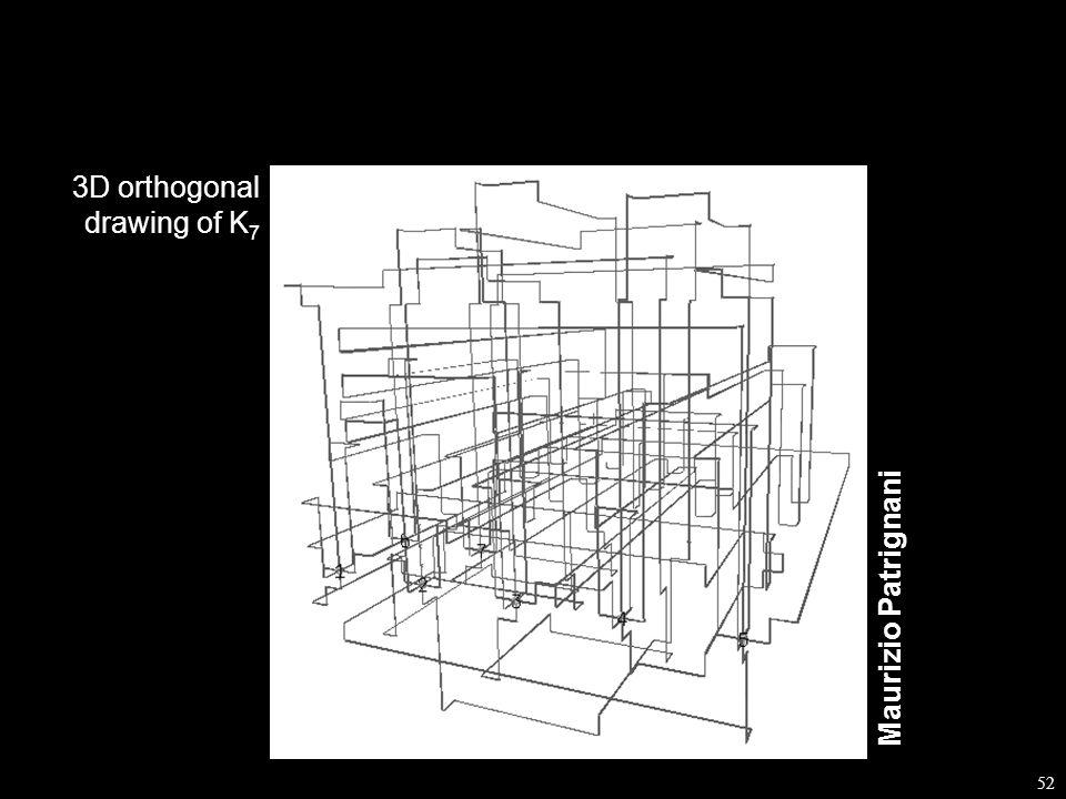 52 Maurizio Patrignani 3D orthogonal drawing of K 7