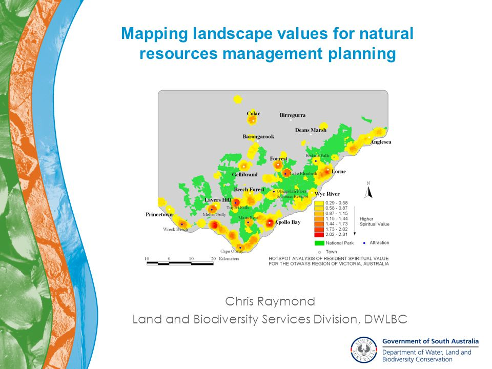 Outline What are landscape values.Why map them. How do you map them.