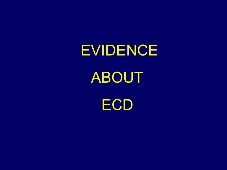 EVIDENCE ABOUT ECD