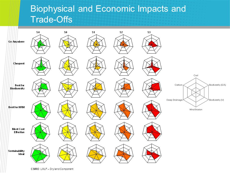 CSIRO LMLF – Dryland Component Biophysical and Economic Impacts and Trade-Offs